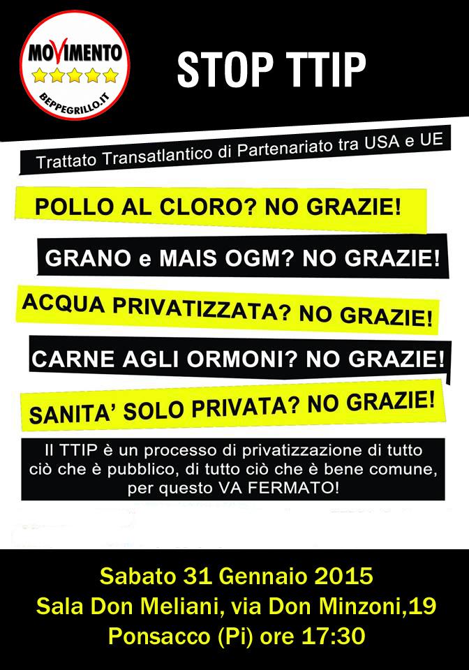 Volantino TTIP Ponsacco Back