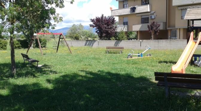 INCHIESTA PARCHI PUBBLICI 6 Giochi per l'infanzia installati nel Parco Pubblico in via Rospicciano in carico al Comune