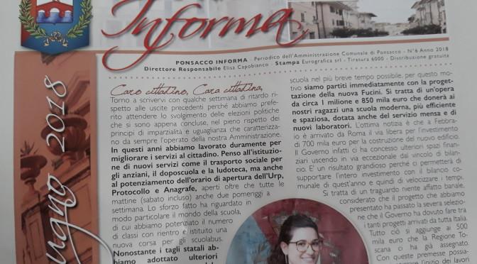 """Ponsacco Informa"" ….."