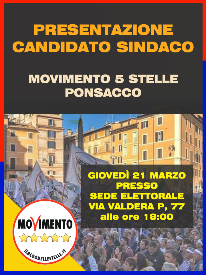 Candidato Sindaco2019 -2