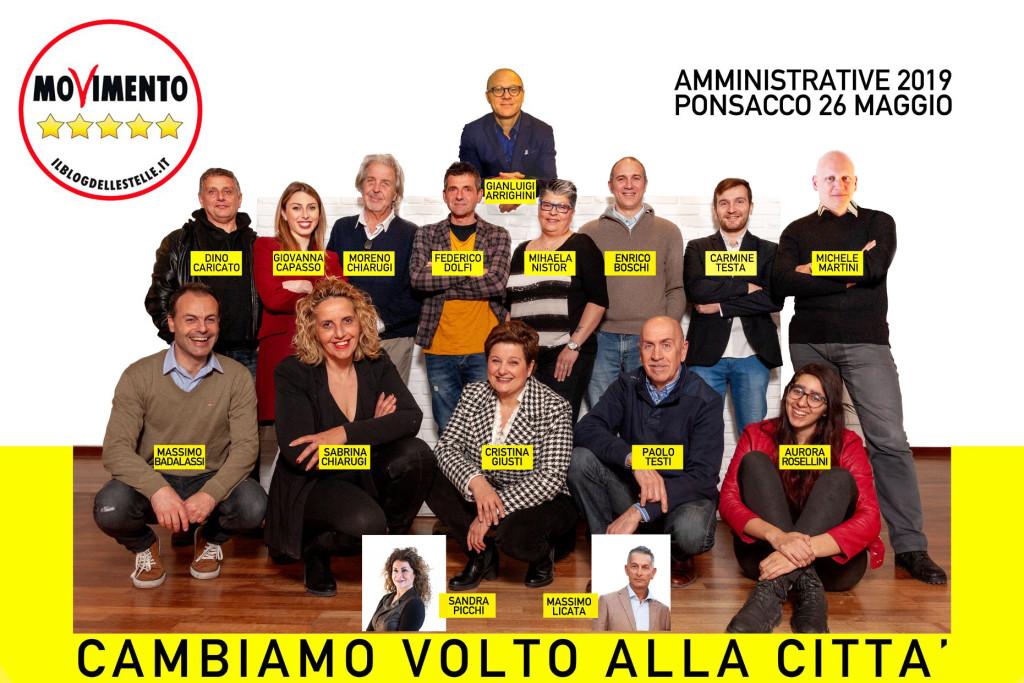 Gruppo Lista M5S Ponsacco + aggiunta
